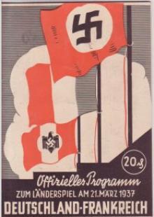 Deutschland - Frankreich / Programmheft