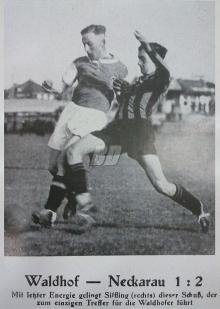 SV Waldhof - VfL Neckarau  1:2