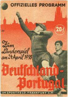 Deutschland - Portugal / Programmheft