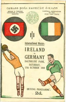 Irland - Deutschland / Programmheft