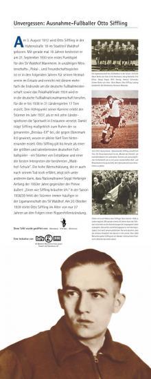 Gedenktafel am Geburtshaus Otto Sifflings