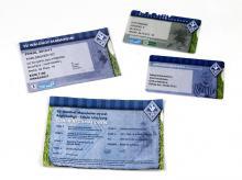 SV Waldhof-Ausweise und Eintrittskarten der Saison 2012/13