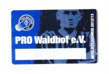 PRO Waldhof e.V. Mitgliedsausweis 2012/13