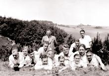 Die Waldhof Mannschaft auf Reisen