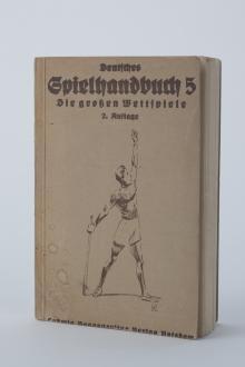 Deutsches Spielehandbuch Nr. 5 - Die großen Wettspiele. 2. Auflage.