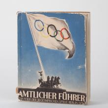 Amtlicher Führer zur Feier der XI. Olympischen Spiele