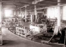 Benz-Werk Mannheim, Karosserie/Band, offene Wagen