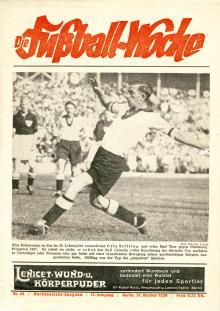 Fußball Woche Norddeutsche Ausgabe 44/1939