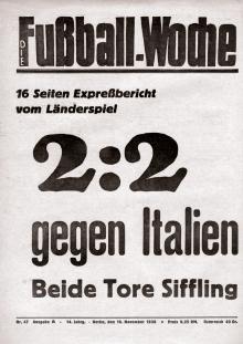 Fußball Woche A 47/1936